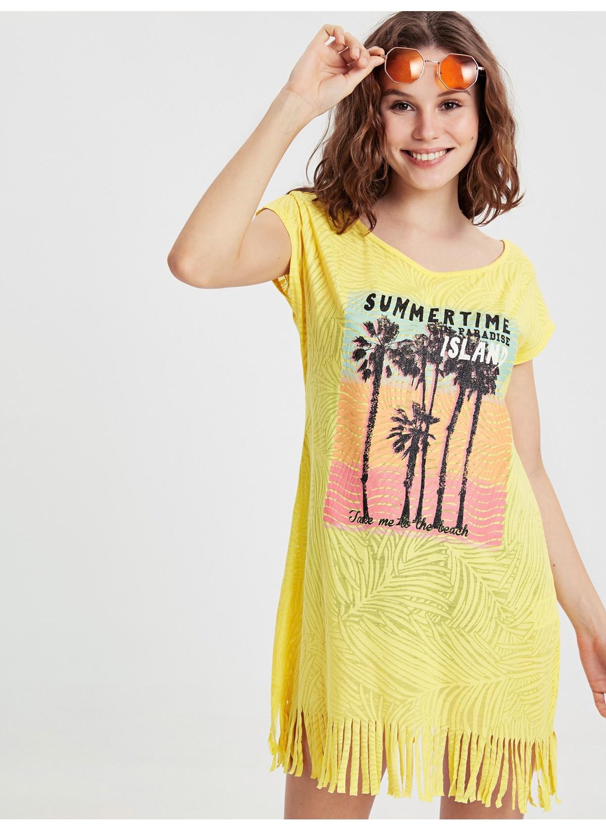 Kadın LC Waikiki Plaj Elbisesi
